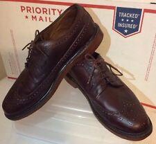 FLORSHEIM Veblen Limited Wine Mans Wingtip Oxfords Genuine Leather Shoes Sz 9D
