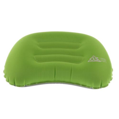 Compact Travel Air Pillow Inflatable Cushion Camping Car Head Rest Lumbar