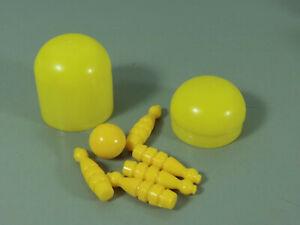 Juguete-Juego-de-Bolos-con-Bola-en-Ei-Amarillo-Oscuro