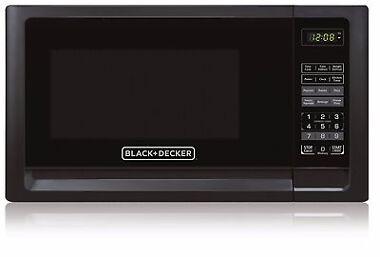 Black & Decker 900 Watts Countertop Microwave Oven
