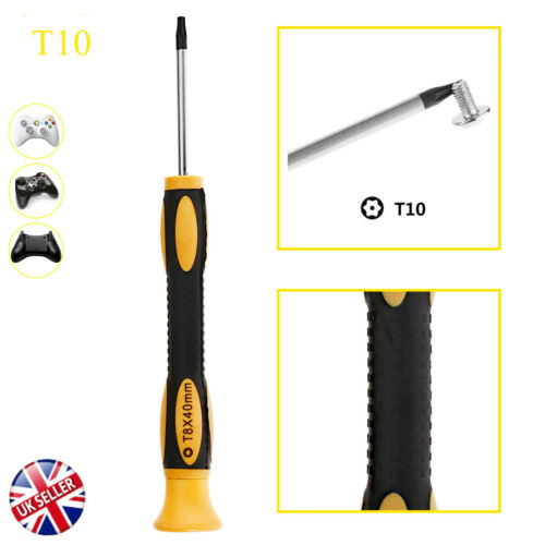 T10 Torx Star Magnetic Security Tamperproof Screwdriver Tool XboxOne 360 PS3//4