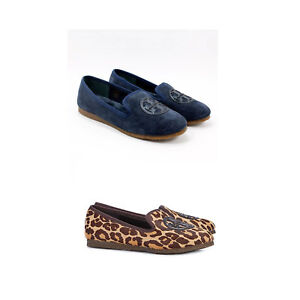 NIB-Tory-Burch-Billy-Leopard-Slippers-Loafers-Pick-Size-and-Design