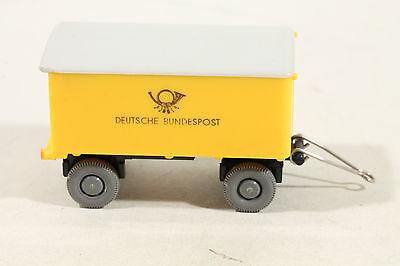 1023 Tipo 2b Wiking Post Rimorchio Bundespost 1960 - 1966/giallo-mostra Il Titolo Originale Le Materie Prime Sono Disponibili Senza Restrizioni