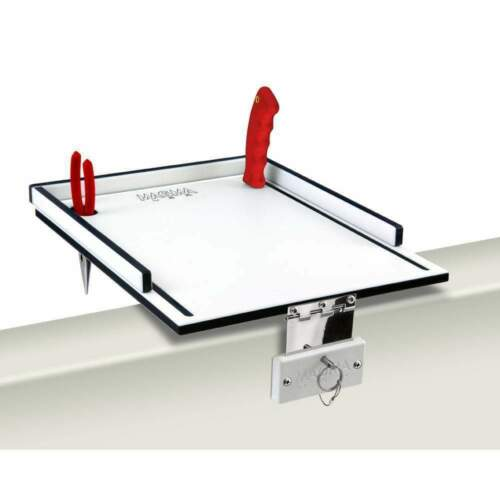 "Magma Econo Mate Bait Filet Table 12/"" White Black White #T10-311B"