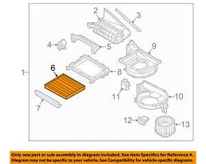 KIA OEM 16-17 Sorento-Cabin Air Filter C6C79AC000