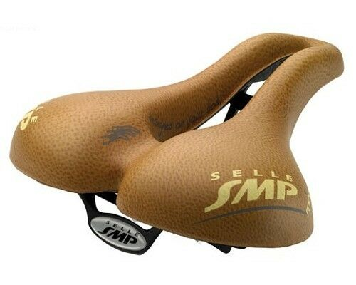 Selle SMP Martin Touring Cycling Saddle Marronee XL Wide Split Bike Bicycle Seat
