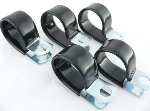 10 AN Fuel Line PER-2912 5 Vinyl Coated Clamps For