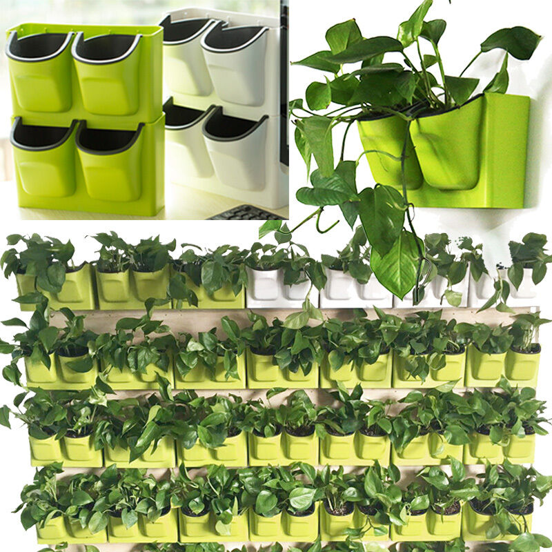 Vertical Self Watering Green Plant Wall Balcony Garden