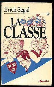 SEGAL-ERICH-LA-CLASSE-DE-AGOSTINI-1985