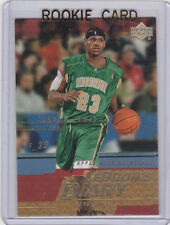 LEBRON JAMES RC High School IRISH ROOKIE CARD 2003 Basketball Upper Deck INSERT