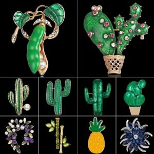 Fashion-Flower-Leaf-Brooch-Pin-Cactus-Plant-WomenBrooches-Bouquet-Jewelry-Gift