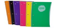 Mead Spiral Bound Notebook Collegemargin Rule1 Subject 70 Sheets Lot Of 3