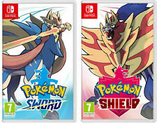 Pokemon Sword or Shield - Nintendo Switch - ON HAND READY TO SHIP