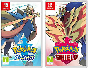 Pokemon Sword or Shield - Nintendo Switch - ON HAND READY TO SHIP