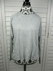 NEW-Fabletics-Switch-Wrap-Top-Womens-Large-Gray-Athletic-Long-Sleeve-Shirt-Yoga