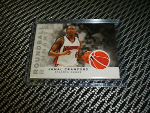 new products 741d2 55ab4 Details about 2009-10 Topps Roundball Remnants Jamal Crawford Warriors  Jersey Patch 36/50