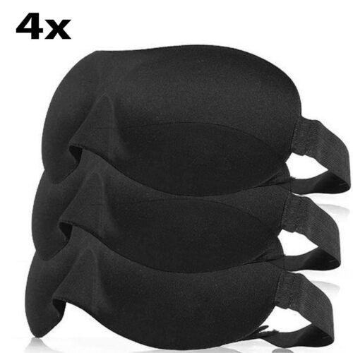 3D Masque Yeux doux éponge Rembourré Voyage Couchage Bandeau sommeil aide Shaded cover
