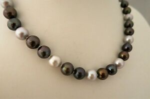 Collier-Tahiti-Traum-45cm-aus-echten-Perlen-10mm-Magnetvers-925er-Silber-TOP