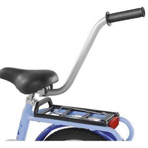 Puky Fahrrad Lernhilfe 9989 FLH Schiebestange Schiebehilfe Stange Silber