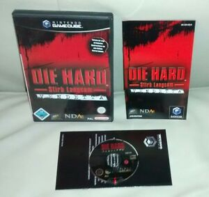 Die-Hard-Stirb-Langsam-Vendetta-Nintendo-Gamecube-KOMPLETT-OVP-CiB-PAL-NGC-Wii