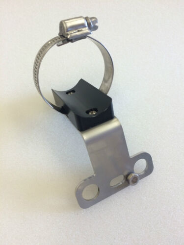 Two Commercial Diver//Mask Bracket 316SS//Delrin w Collar for housing 35mm DIA 2
