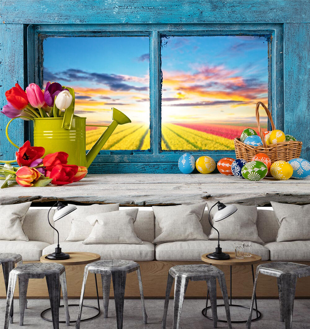 3D Windowsill Scenery 1346 Paper Wall Print Wall Decal Wall Deco Indoor Murals