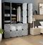 16-20-Cube-DIY-Plastic-Storage-Wardrobe-Shoe-Organizer-Shelves-Unit-Hanging thumbnail 7