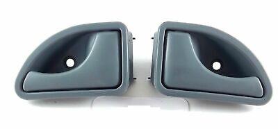 2 maniglie per portiera anteriore sinistra e destra TWINGO//KANGOO grigio