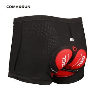 Mens-3D-GEL-Cycling-Underwear-Padded-Bike-Bicycle-Shorts-Comfortable-3-Style