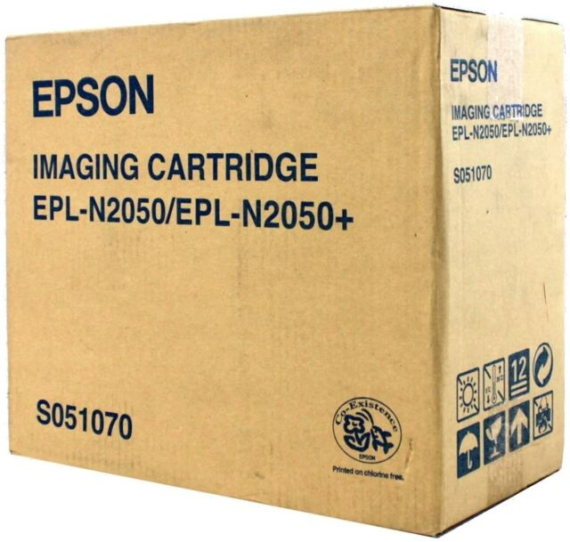 original Epson S051070  Toner + Trommel Black EPL-N2050 neu  A-Ware
