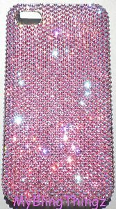 9ss-LIGHT-ROSE-AB-Bling-Back-Case-for-iPhone-5SE-5-5S-made-w-Swarovski-Crystals