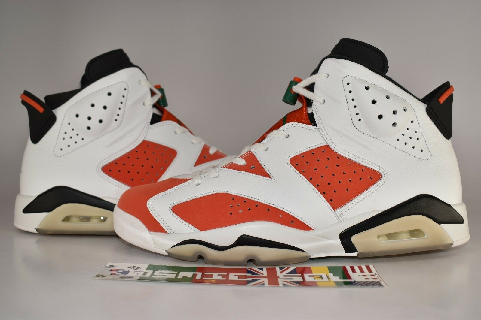 Nike Air Jordan 6 Size Retro Like Mike Gatorade Style Size 6 11 585b1b