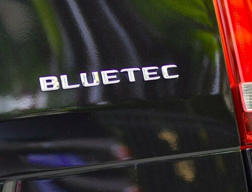 BLUETEC Letter Emblem Badge Decal Trunk Rear Chrome for Mercedes Benz G V GL ML