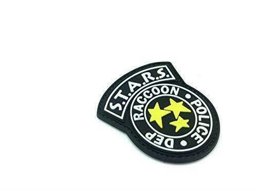 STARS Racoon Police DEPT Black Resident Evil PVC Airsoft Patch