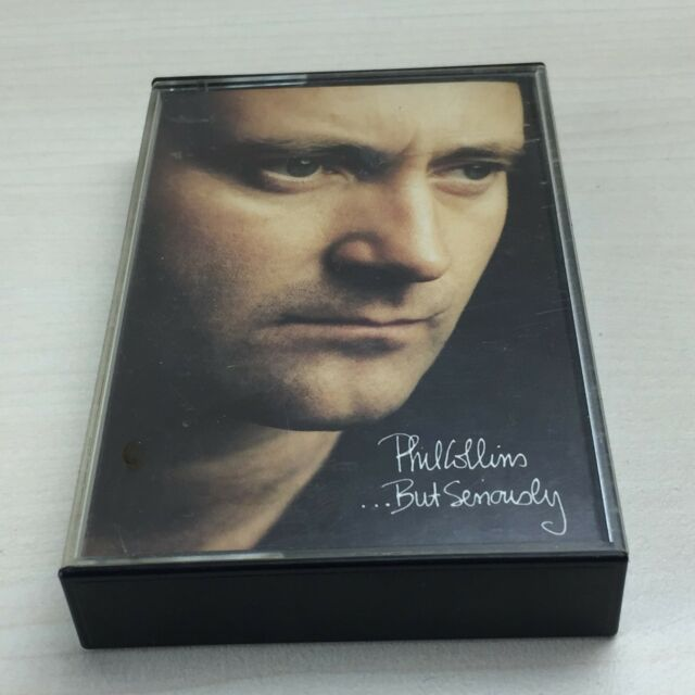 Phil Collins ... But Seriously Album On Cassette Tape - Another Day In Paradise