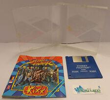 Play Gioco Game CBM Commodore AMIGA Disk Disco - Capcom 1987 - STREET FIGHTER -