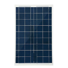 30W 12V Semi Flexible Solar Panel Device Battery Charger Kit