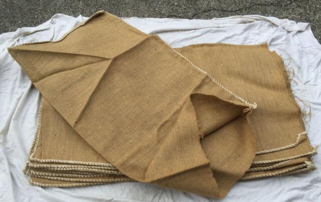 5x Jutesack 60x110cm Pflanzenschutz Winterschutz Kartoffelsack Futtermittelsack