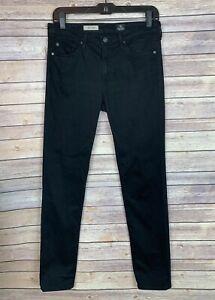 AG-Jeans-Size-29-Womens-Black-Prima-Midrise-Cigarette-Skinny-Adriano-Goldschmied