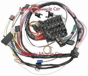 dash wiring harness 69 pontiac gto lemans tempest judge ram air 1969 w lights ebay