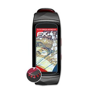 3x-Anti-Shock-Pellicola-protettiva-per-Samsung-Gear-Fit-2-Pro-opaco-amp-flessibile