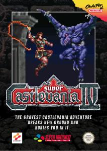 snes super castlevania 4