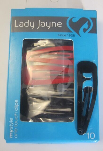 Lady Jayne mystyle 10pk one touch Clips Assorted / Pins / Pin / Clip