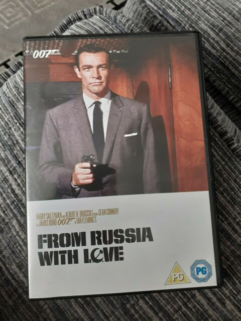 DVD REGION 2 JAMES BOND FROM RUSSIA WITH LOVE