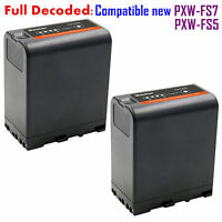 2x Kastar Battery For Sony Bp-u60 Bp-u66 Pmw-300 Pmw-ex1 Pmw-ex1r Pmw-ex3