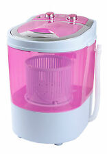 DMR 30-1208Pink  Portable 3kg Single Tub Mini Washing Machine with dryer basket