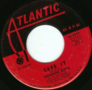 "SOLOMON BURKE - Save It 7"" 45"