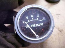 Vintage Ih Farmall Oliver Ac Tractor Engine Oil Pressure Gauge 80