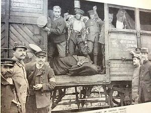 m81 ephemera 1938 ww1 picture 1914 british tommies travel in cattle truck - <span itemprop=availableAtOrFrom>Leicester, United Kingdom</span> - Returns accepted Most purchases from business sellers are protected by the Consumer Contract Regulations 2013 which give you the right to cancel the purchase within 14 days after the da - Leicester, United Kingdom