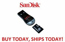 Portable USB 2.0 Adapter Micro SD SDHC Memory Card Reader Writer Flash Drive